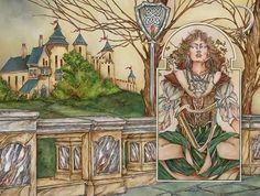 fantasi artist, romant fantasi, moonlight thoma, thoma canti, illustr