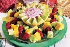 Fresh Fruit Kebabs Recipe