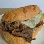 Crock-Pot French Dip Sandwich