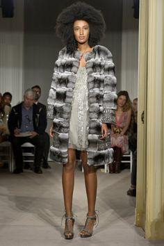 Julia Sarr-Jamois for Alberta Ferretti Demi Couture 2012