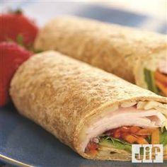 Fruity #Turkey Burrito from Jif® #Lunch