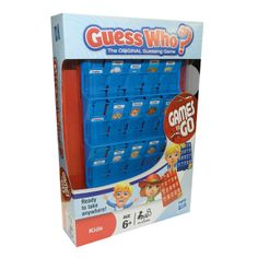 The original guess who board game now in travel game size perfect