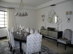 modern dining room by Pacific Family Homes