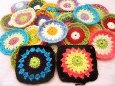 Tığ İşi Motif Örneği ve Açıklaması crochet motif patterns:http://www.marifetane.com/