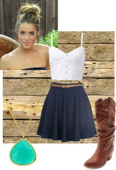 """""""another summertime outfit"""" by savannah-marshall on Polyvore"""