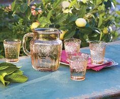 Mayfair Rose Glassware