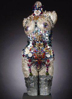 Mannequin mosaic/assemblage