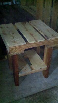 Pallet furniture for sale on Pinterest  Pallet Tables, Pallet Benches ...