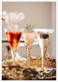 Bubbly cocktails- so pretty