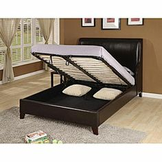 california king size bed with storage - King Size Bed With Storage