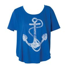 """Anchor top found on www.Polyvore.com another online clothing boutique. People post items that they like in their own """"storefronts"""" creating lookbooks which you can search through and find links to purchase what you like."""