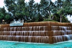 Visiting the Fort Worth Water Gardens with Kids