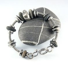 Beach Pebble Bracelet