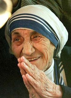 Mother Teresa #smile