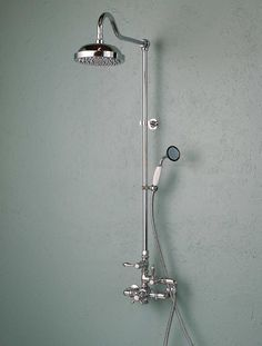 Exposed Thermostatic Shower and Handheld Shower Set-Chrome