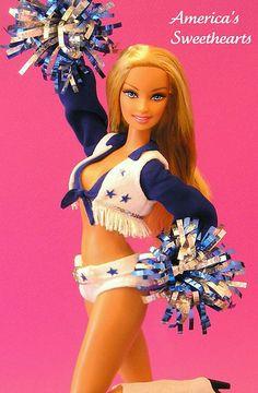 Dallas Cowboys Cheerleader Barbie