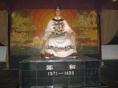 Zheng He statue.