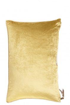 Velour Bolster Pillow