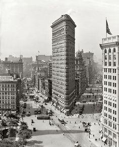 1909 Madison Square Panorama