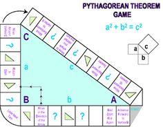 Pythagorean theorem game