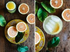 This is my kind of drink.  Grapefruit and salt?  Make mine a double. Grapefruit Margarita from Not Without Salt