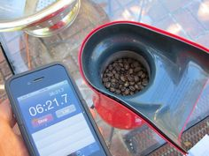 say what?! roasting coffee beans in a popcorn popper! fantastic project to try!