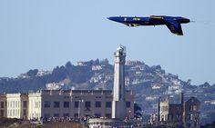 The Blue Angels. Fleet Week San Francisco.