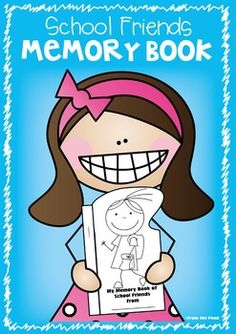 Memory Book of School Friends - End of Year Momento