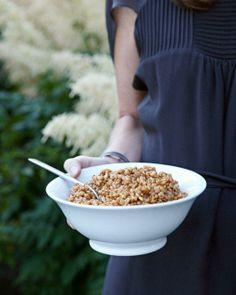 Spelt Pilaf with Saffron Recipe