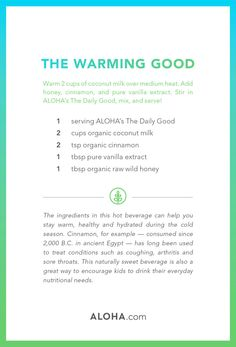 Winter Weather Cravings? Here's a Delicious, Healthy Alternative To Hot Chocolate #healthyrecipes #sweettooth