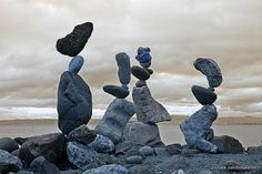 Delicate Balance – Rock Sculptures by Bill Dan - Pondly