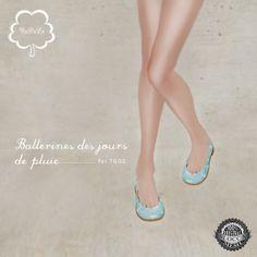 NuDoLu Ballerines des jours de pluies AD | Flickr - Photo Sharing!