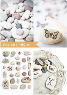 Decorated Pebbles by Craft  Creativity