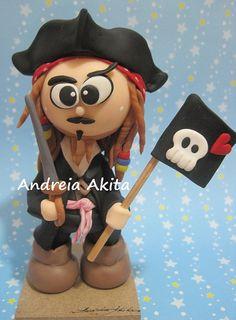 Jack Sparow para Mega Artesanal 2011 by Andreia Akita, via Flickr