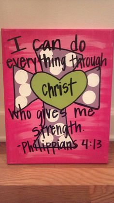 Handpainted personalized canvas 11x14 by AmandaSimpkins on Etsy