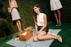 Lawn-party wedding at Rachel Antonoff. Photos by Lia Schryver.