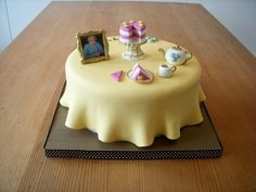Table Top  Cake by Beside The Seaside Cupcakes