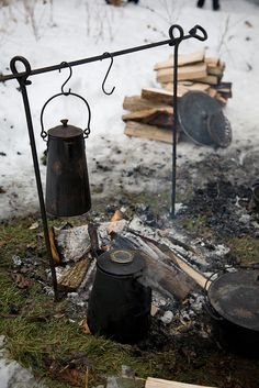 coffee on the campfire