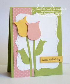 Owl Punch Tulip Card