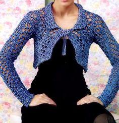 Crochet Bolero Jacket - Stylish