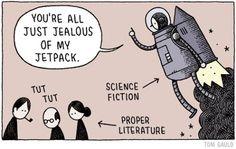 Science fiction // Proper literature