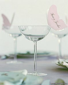 cute for weddings or dinner parties!