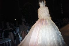 Chanel Haute Couture, Fall/Winter 2012This gown took my breath away.  Every little detail is perfect!
