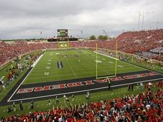 Texas Tech Red Raiders, Jones Stadium in Lubbock, TX