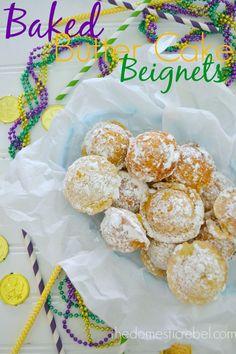 Baked Butter Cake Beignets