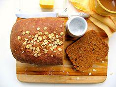 wheat, oatmeal molass, sunflowers, breads, seeds, bojon gourmet, oats, molass bread