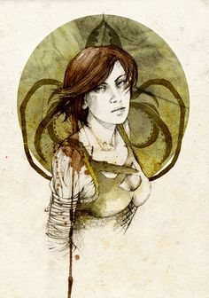 www.ohmz.net » Song of Ice and Fire Water Colour Portraits With Bonus Disney Princesses!