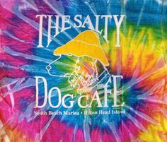 Make your own Salty Dog Tie-Dye T-Shirt on Hilton Head