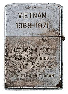 Zippo lighter From The Vietnam War era