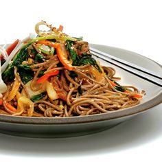 Make this healthy japchae recipe for dinner tonight and you'll rock your body as well as your taste buds